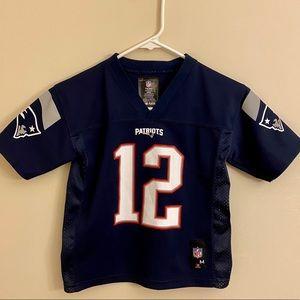 Kid's NFL Team Apparel Tom Brady Jersey